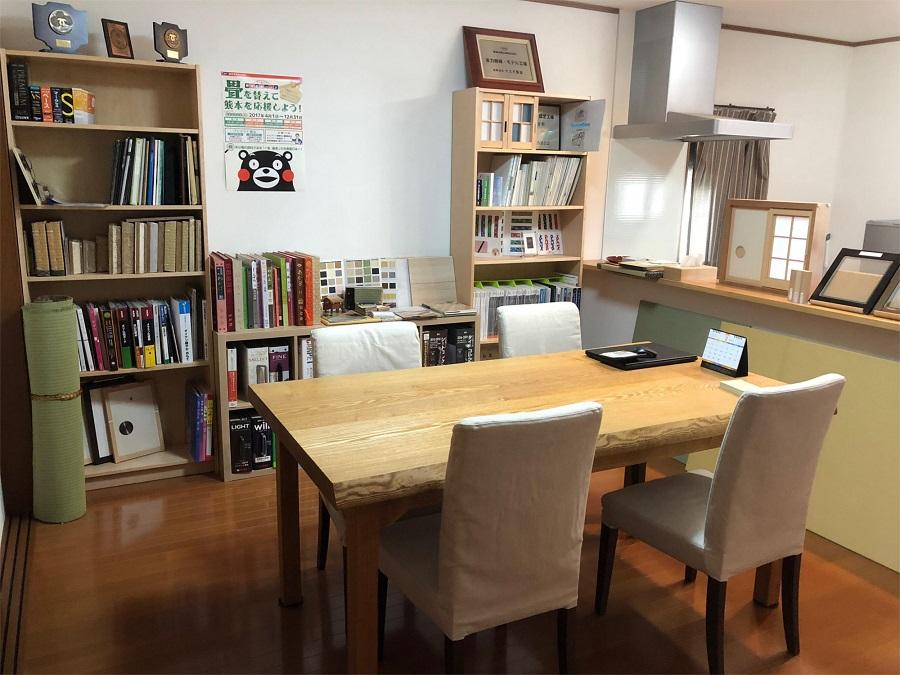 有限会社ヤスオ畳店 ショールーム&ご商談スペース