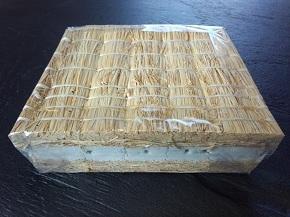 畳の張り替え 工事 新畳料金。藁床の足触りや良さをリーズナブルに味わえます。標準で防虫シートがついています。新畳 ワラサンド床の画像。